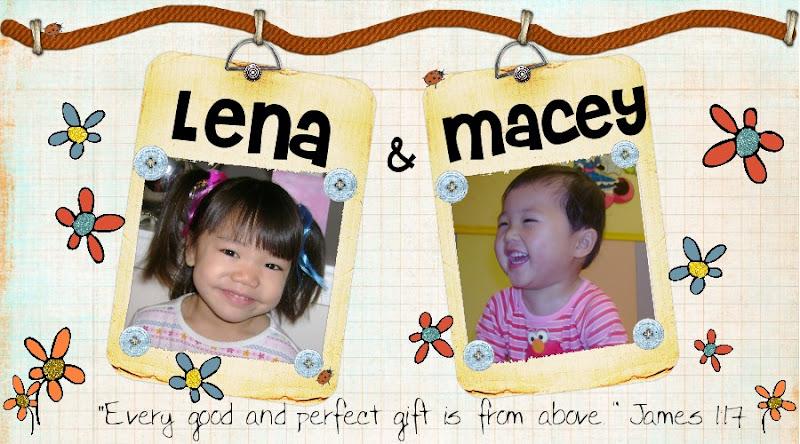 LENA & MACEY