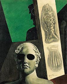 Giorgio de Chirico, Portrait prémonitoire de Guillaume Apollinaire