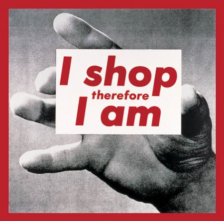 Cosumerism Critique - Barbara Kruger