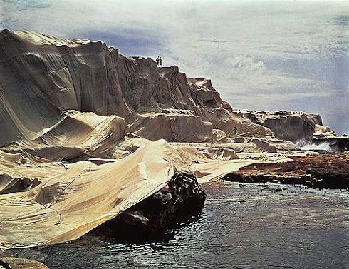 Christo and Jeanne-Claude, Wrapped Coast, One Million Square Feet, Little Bay, Sydney, Australia