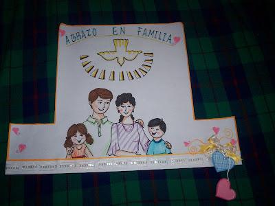 Manualidades abrazo en familia - Manualidades en familia ...