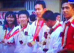 Peraih Medali Olympiade 2008