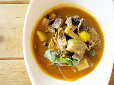 Rice Kingdom.: Thai Jungle Curry with Beef, Gang Pah Neau