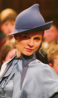 Clemence Poesy as Fleur Delacour in Harry Potter and the Goblet of Fire