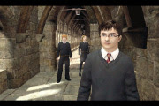 Harry, Ron, and Hermione from the OotP Video Game