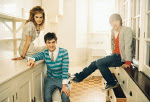 Emma, Dan, and Rupert in Teen Vogue