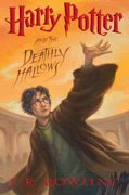 Harry Potter and the Deathly Hallows Book Cover Art