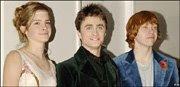 Emma Watson, Daniel Radcliffe, and Rupert Grint