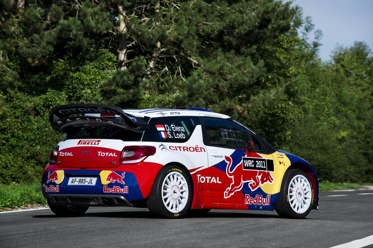 used in the DS3 WRC have