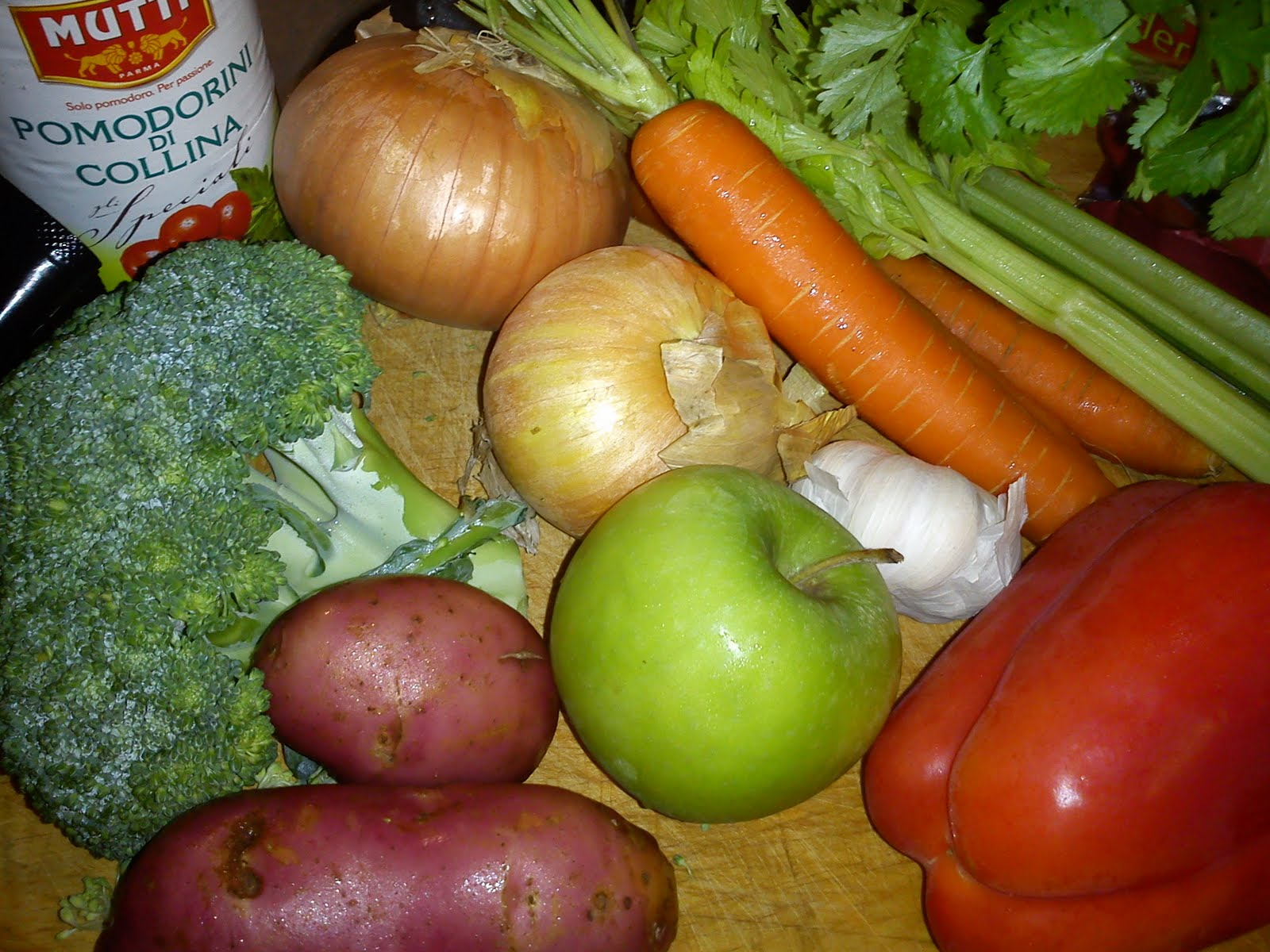 trines matblogg kyllingsuppe med linser