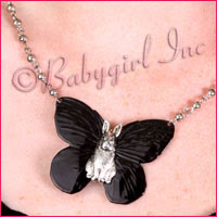 Lucky Loo Loo Jewelry - Unique & Darling Black Enamel & Silver Plated