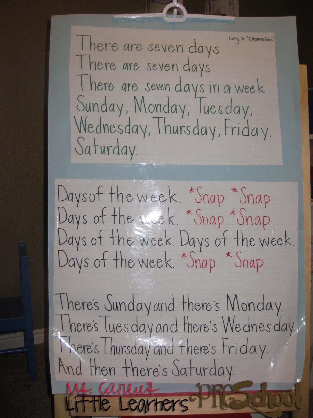 Ms. Carlie's Little Learners Preschool: {september: week four}