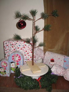 Our Charlie Brown Christmas Tree