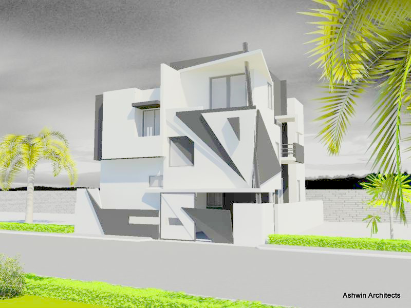 bangalore architecture exteriors of akhil s bunglow in bangalore by