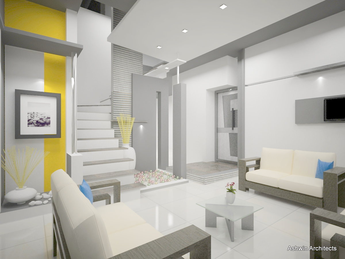 Bangalore architecture interiors of arun 39 s bunglow in for Interior designs in bangalore