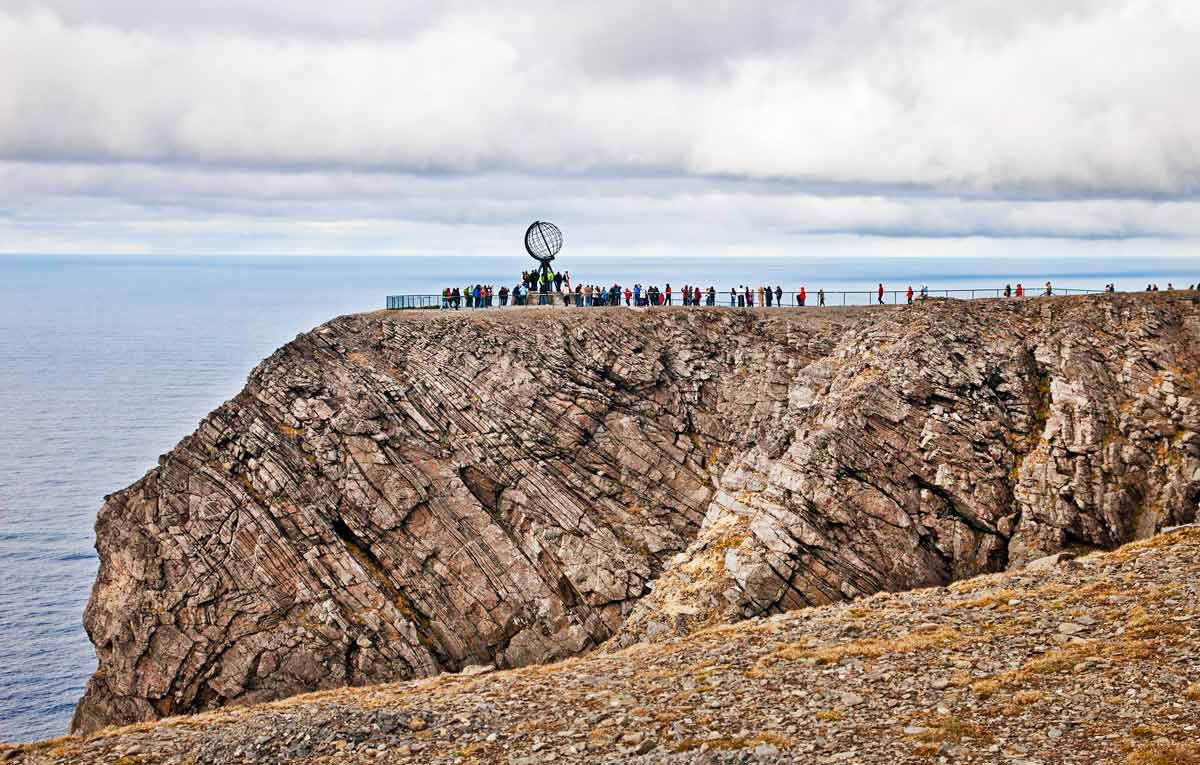 North_cape,_norway on Landforms Of The Earth