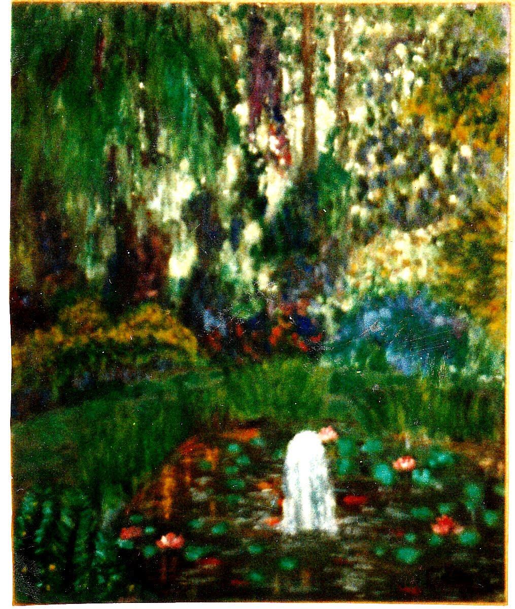 Carlos d 39 ors pintor y dibujante jard n rom ntico 1990 for Jardin romantico
