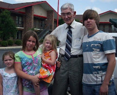 My beloved Dad & son, and grandkids
