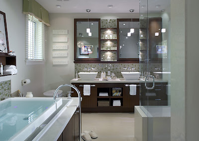 Bathroom Design Ideas & Pictures - Bath Tiles, Countertops and