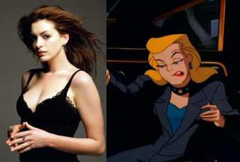 Anne Hathaway as Selina Kyle - Dark Knight Rises Movie
