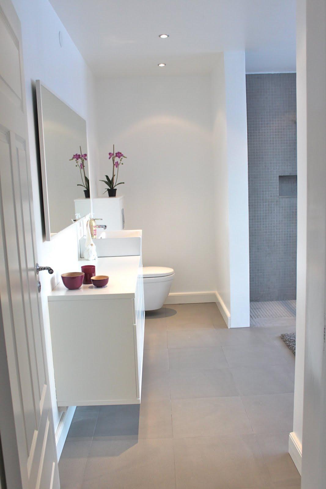 It's a house   en av sveriges största inredningsbloggar: vårt badrum!