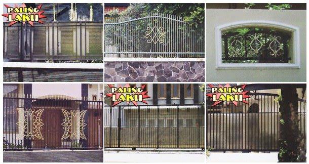 Pintu Pagar Rumah / Pintu Pagar Besi