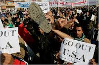 Bush/U.S. Protestors