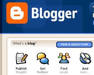 free hosting using Blogger