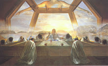 Last Supper by Salvador Dali