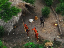 """uncontacted"" Indians in Brazil"
