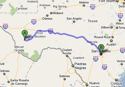 Headin Through Texas Creative Cruising