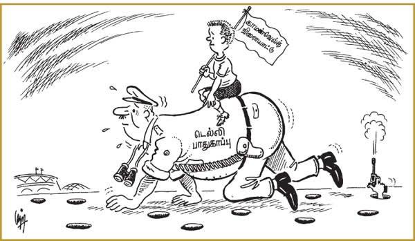 tamil makkal kural  commonwealth games madan cartoon vilaiyattu pottigal