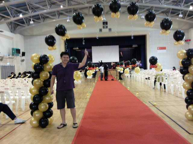 Alpha Plus Magic Journal: Balloon Decoration for Graduation Day
