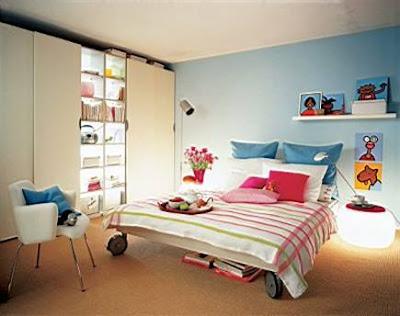 Paris Teen Girls Bedroom Ideas