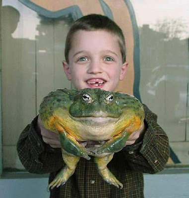 Kid Having Biggest Toad