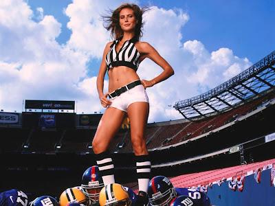 Heidi Klum futbol american wallpaper