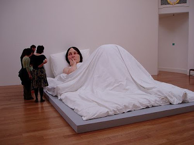 Sculpture Of a Sleeping Lady
