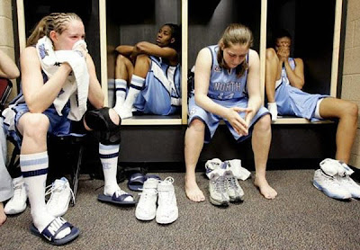 Womens Basketball Team Aftergames.....Smelly Is It