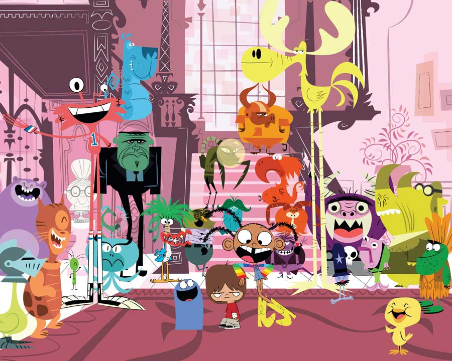 Cartoon Chatter | Foster's Home for Imaginary Friends
