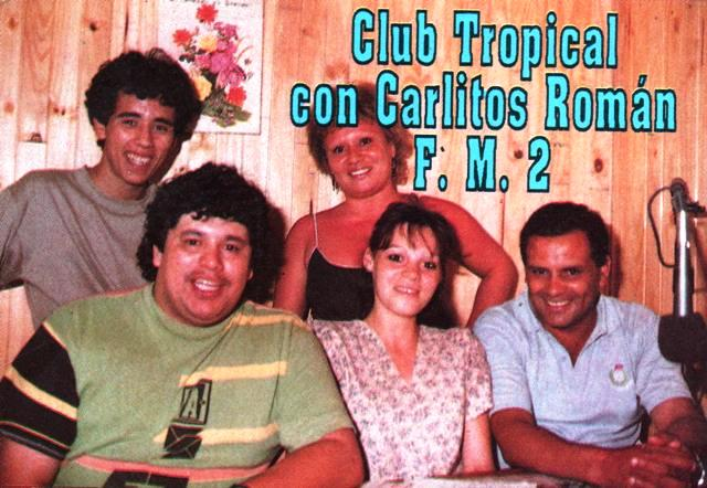"Staff del programa ""Club Tropical"""