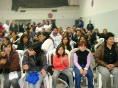 el público en villa gbor. galvez
