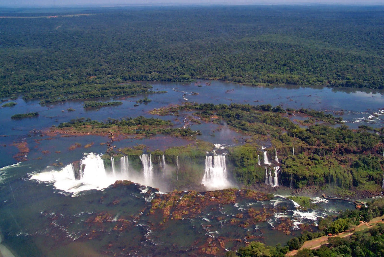 The 100 Most Beautiful Places In The World The Iguazu Waterfalls