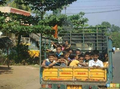 Bus Sekolah Terunik Di Dunia