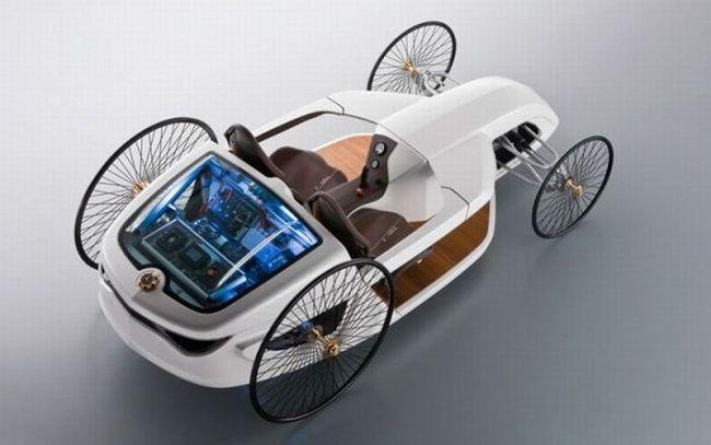 Всё новое - это хорошо забытое старое! | Mercedes Benz Hybrid F-Cell Roadster