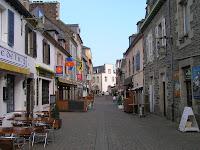 La rue principale de Binic