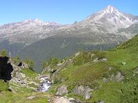 La montée dans le Röttal au dessus de Prettau, Südtirol