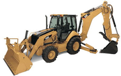 CAT 416D Backhoe Loader