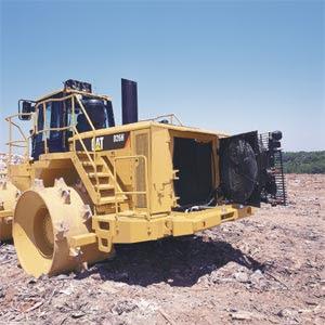 CAT 836H Landfill Compactor