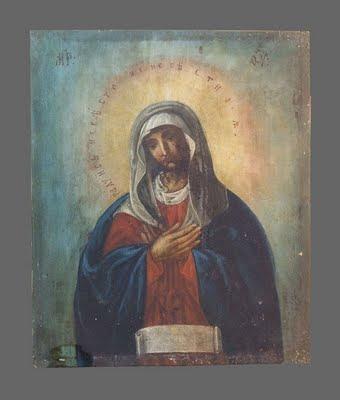 """... Икона """"Пресвятая Богородица Невеста: rusart.blog.ru/99177465.html"""
