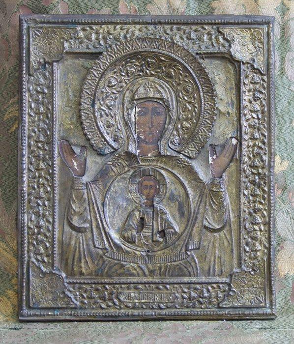 Реставрация оклада иконы своими руками
